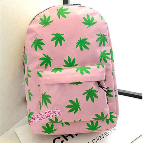 рюкзак с листьями