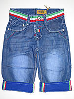 Джинсовые шорты для мальчиков S&D оптом,6-16 лет.