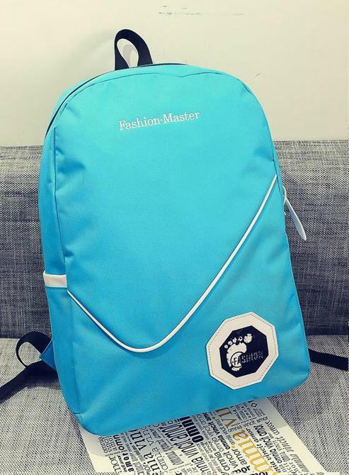 Стильный однотонный рюкзак городской