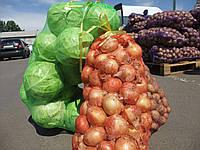Мешок-сетка овощная 5 кг (28х40см). Картошка, лук, овощи, фрукты., фото 1