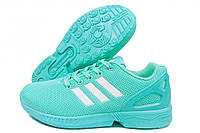 Кроссовки женские Adidas ZX Flux Torsion мятные (адидас)