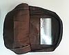 Черный городской рюкзак из кружева, фото 6