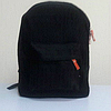 Черный городской рюкзак из кружева, фото 3
