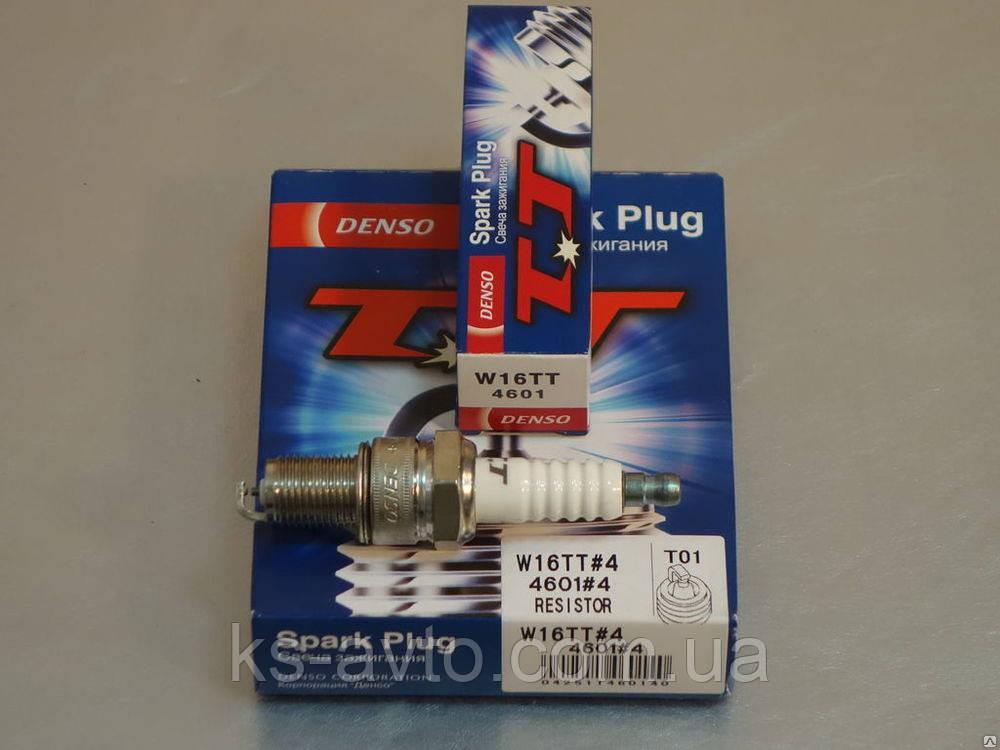 Свеча зажигания Denso W16TT (2101-2110, Lanos 1.5) (под ГБО)