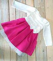 Детское платье пышное с фатином Польша на 2, 3, 4, 5, 6 лет