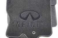 Коврики текстильные в салон Infiniti FX-35 (50) 2008- (Qx-70 2013-) материал Cachemire SL черн. 3D (5шт/комп)