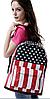 Рюкзак городской Американский флаг, фото 2