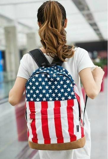 Рюкзак городской Американский флаг