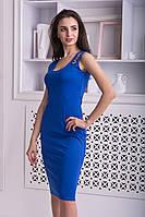 """Синее платье майка  """"Шанель"""", фото 1"""