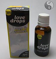 Возбуждающие капли для двоих Love Drops, 30 мл