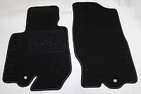 Коврики в салон текстиль Infiniti FX-35 (50) 2008- (Qx-70 2013-) материал Milan черный 3D (5шт/комп)