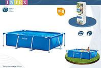 Прямоугольный бассейн Intex Rectangular Frame Pool 58981/28272 Интекс 300 х 200 х 75 см  киев