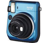 Фотокамера моментальной печати Fujifilm Instax Mini 70 Blue EX D