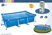 Прямоугольный бассейн Intex Rectangular Frame Pools арт. 58980/28271 Интекс 260х160х65см   киев, фото 1