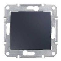 Выключатель одноклавишный промежуточный Schneider-Electric Sedna SDN0500170 графит
