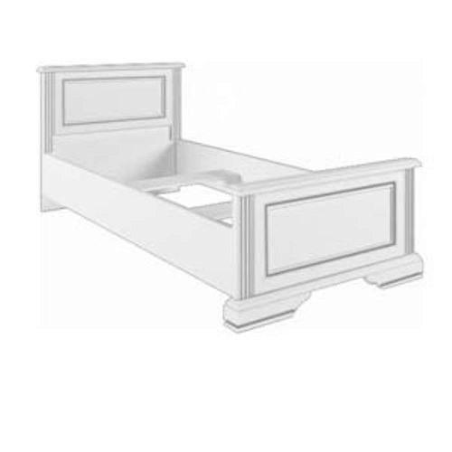 Кровать (каркас) 90 Вайт Ясень снежный (Гербор TM)