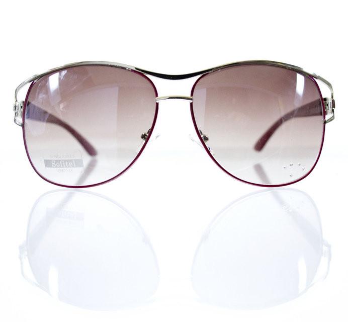 Оригинальные солнцезащитные очки-авиаторы для женщин