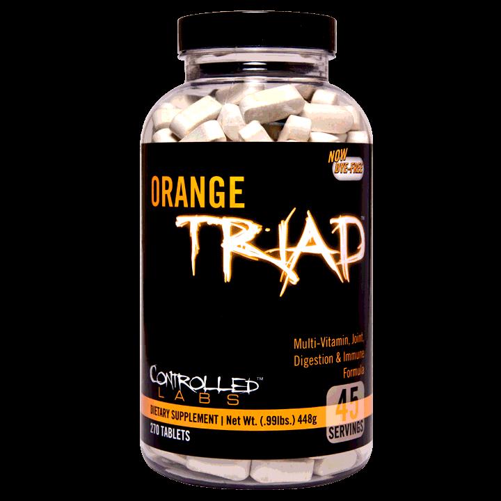 Controlled Labs Orange Triad 270 tab