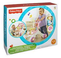 Детская игрушка Фишер Прайс Ходунки-коляска для кукол