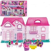 Большой домик для кукол 16428 с музыкой и светом
