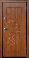 """Входная бронированная дверь """"Кордон-МДФ"""" золотой дуб"""