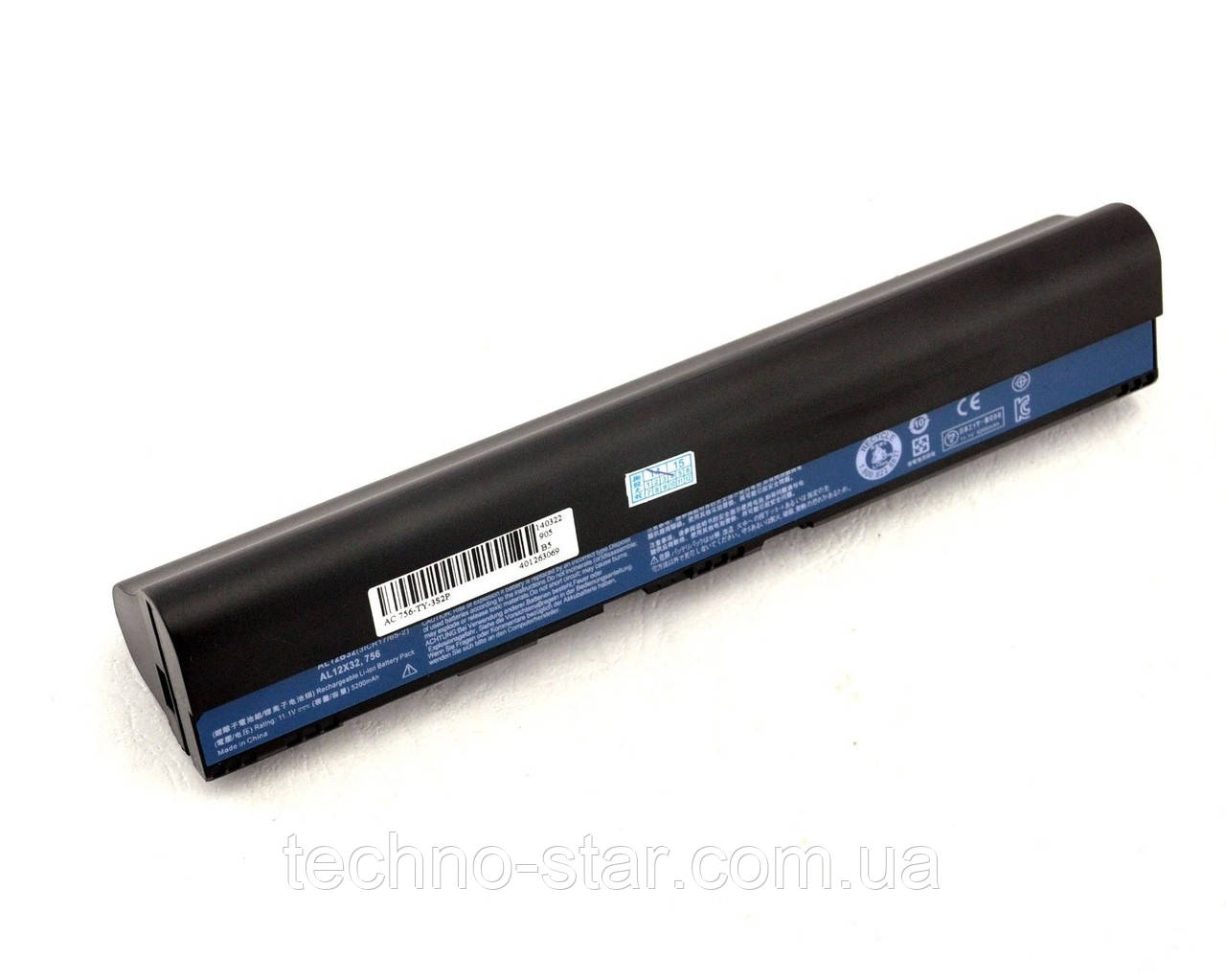 Акумулятор (батарея) ACER AL12X32 AL12A31 AL12B31 AL12B32 One 725 756 TravelMate B113 B113M C710 C7