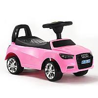 Машинка каталка-толокар Audi с музыкальной панелью