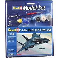 Model Set Самолет F-14A Tomcat Black Bunny, 1:144, Revell