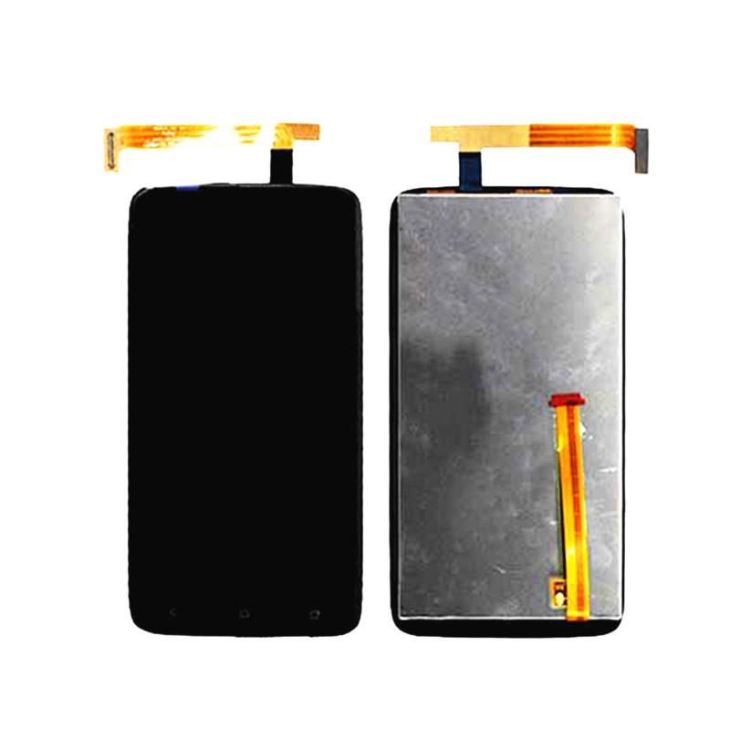 Дисплей HTC S728e (One X Plus)(красная клавиатура) с сенсорным экраном (черный) - iMobi в Киеве