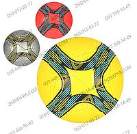 Мяч футбольный EV 3219, размер 5, из ПВХ 1,8 мм, 32 панели, вес 350-370 грамм, 3 цвета