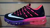 Женские кроссовки Nike air max 2016 с розовым
