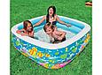 Детский надувной бассейн «Аквариум» Intex 57471 (159*159*50 см) 2 вида, фото 5