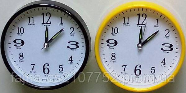 Годинник будильник кркуглий 10,5см 988