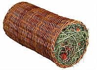 Trixie (Трикси) Wicker Tunnel with Hay туннель с сеном и морковью для грызунов