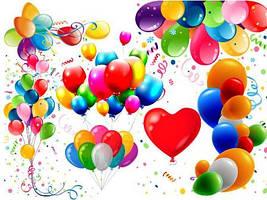Оформлення повітряними кульками