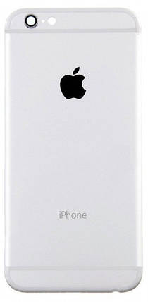 Задняя крышка IPhone 6 Plus silver, сменная панель, фото 2