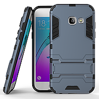 Чехол Samsung A320 / A3 2017 Hybrid Armored Case темно-синий