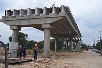 Ремонт мостовых несущих конструкций, бетонных сооружений