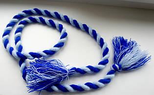 Пояс Веревка синего и красного цвета