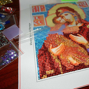 Алмазная мозаика (иконы)