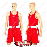 Боксерская форма Everlast МА-6011-R (PL, p-p XS-XL, красный)