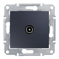 Розетка ТВ конечная  Schneider-Electric Sedna SDN3201670 графит