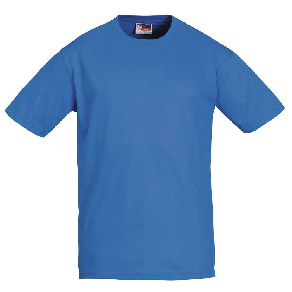 Футболка женская и мужская голубая US Basic