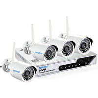 Комплект видео наблюдения  6004 wifi 3204 4ch