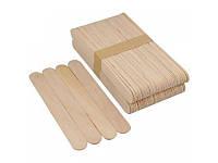 Шпателі дерев'яні для депіляції 100 шт