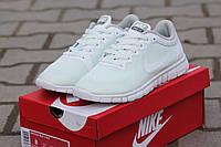 Женские кроссовки Nike Free Run 3.0 белые 1867