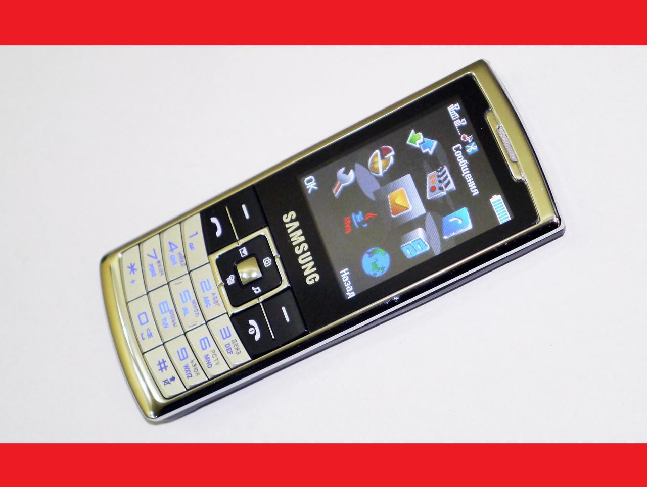 """Телефон Samsung S310 - 2 sim - 2,2"""" - Fm - Bt - Camera  - стильный дизайн"""