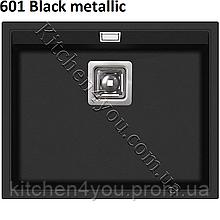 Прямокутна гранітна мийка 555х455 мм. Aquasanita (Литва) Delicia SQD 100, монтаж під або в стільницю