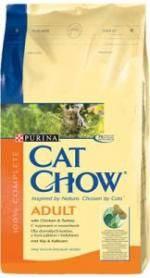 Cat Chow с курицей и индейкой 15кг для кошек, фото 2