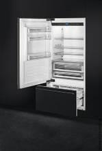 Встраиваемый холодильник 90 см Smeg  RI96LSI